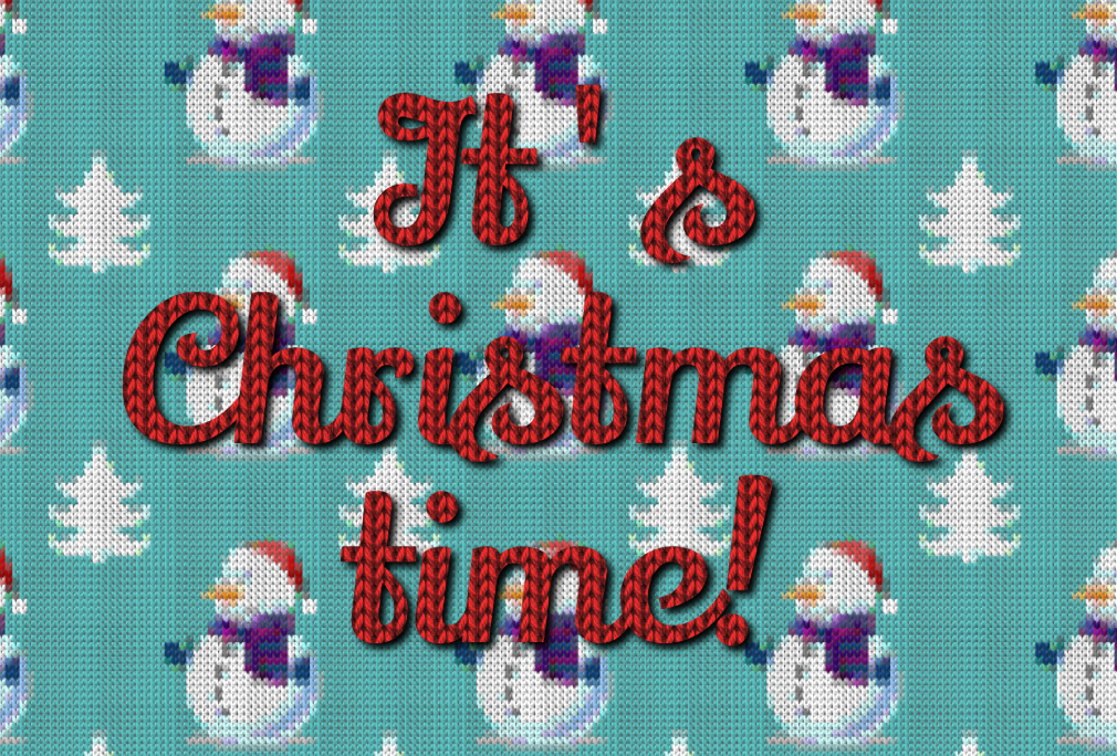 free online text generator Christmas Knitted Text Effect