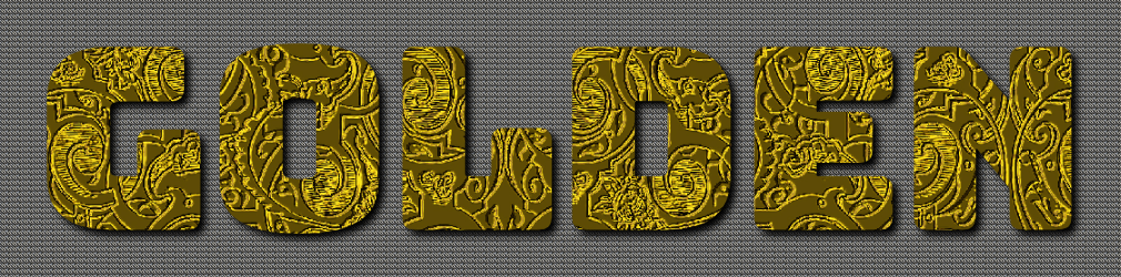 free online text generator Engraved Gold Text Effect