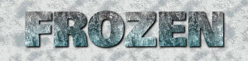 free online text generator Ice And Snow Text Effect