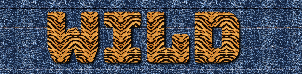 free online text generator Jeans And Animal Print Text Effect