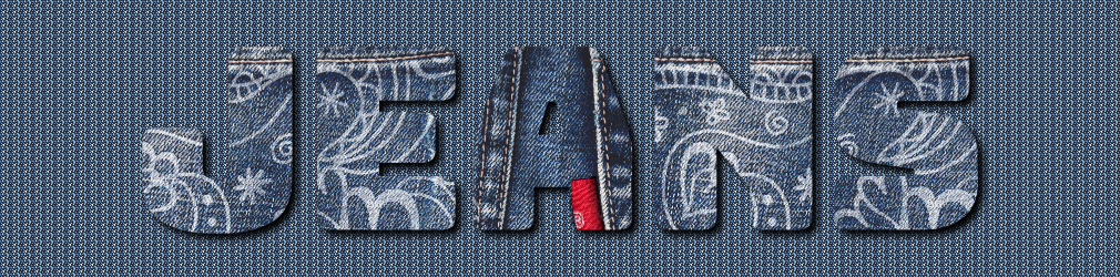 free online text generator Painted Jeans Text Effect