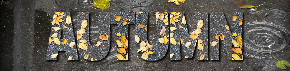 free online text generator Rainy Autumn Day Text Effect