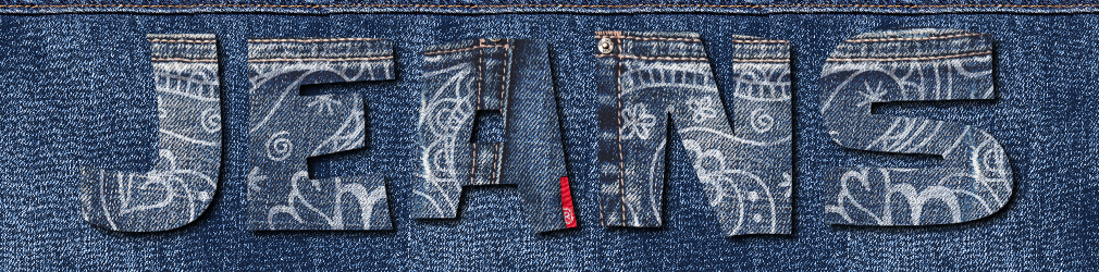 free online text generator Stitched Jeans Text Effect