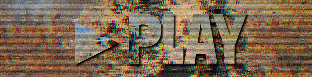 free online text generator VHS Glitch Text Effect