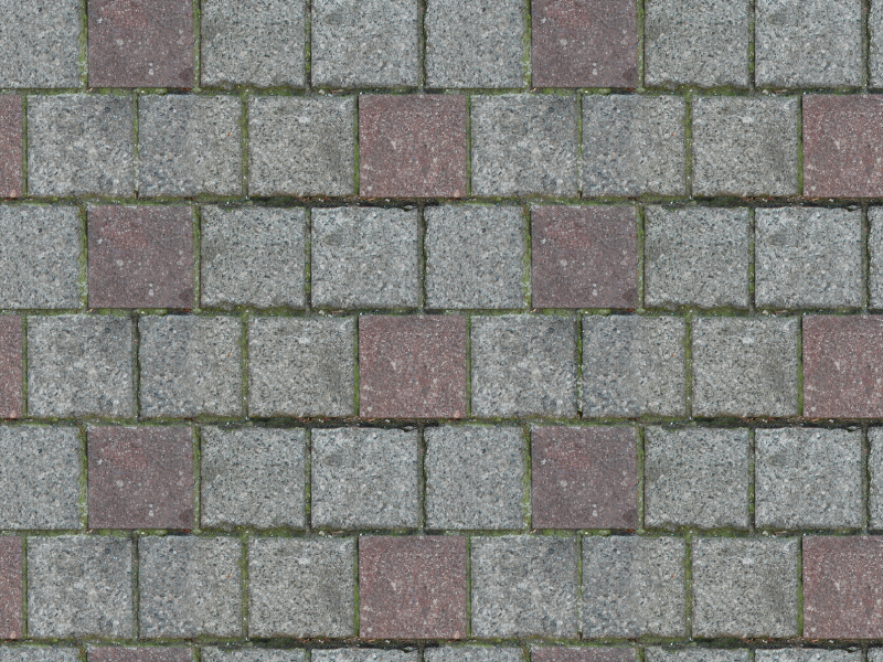 Brick Floor Texture Seamless And Tileable